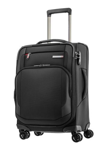 Samsonite black Samsonite Hexel Spinner 57/20 EXP Luggage 9531DAC4704EFEGS_1