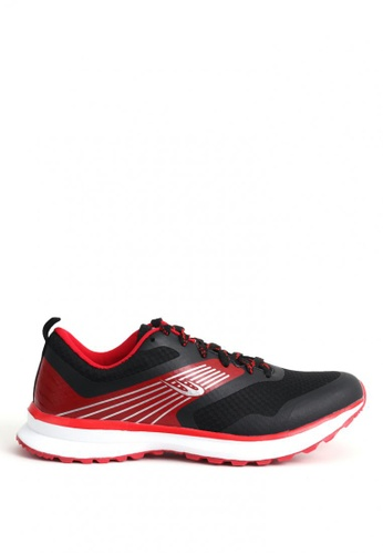 World Balance black Excelerate Mens Running Shoes 72583SHD067261GS_1