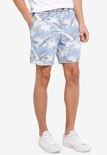 Superdry 藍色 Nue Wave Wash Short 1A249AAF14D089GS_1