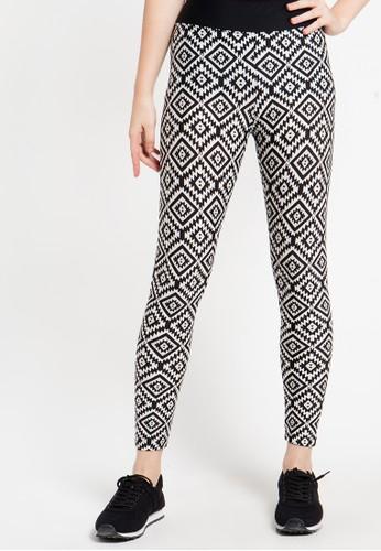 Lee Vierra black Long Pants Print Wajik LE768AA23ZNOID_1