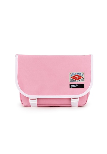 Peeps pink E2 Mini Messenger Bag 3B7CBAC27D8254GS_1