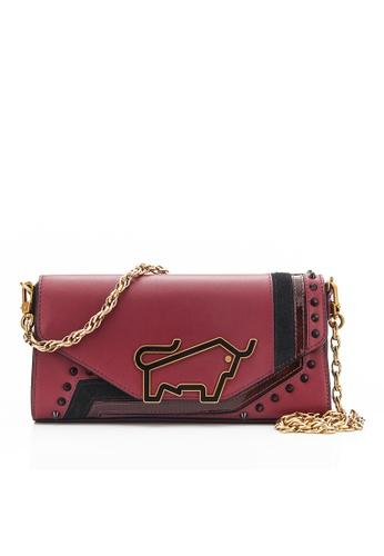 Braun Buffel red Elisha Crossbody Bag 3D30AACAC87F9CGS_1
