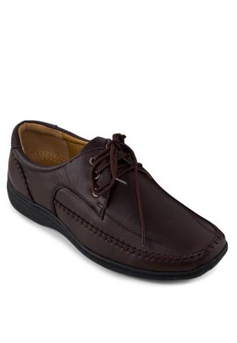 繫帶休閒皮鞋, 鞋, zalora 心得 ptt鞋