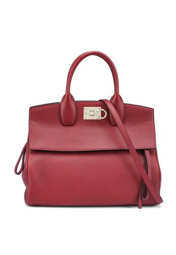 Ferragamo red Studio Bag (zt) BB880ACC36507FGS_1