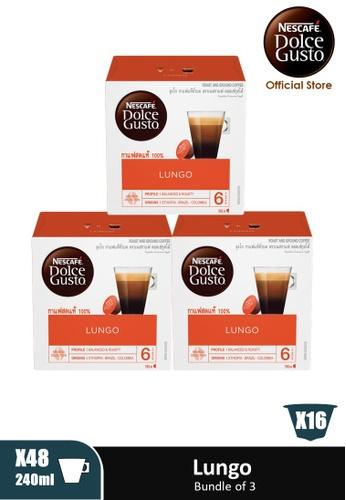 NESCAFE Dolce Gusto [3 Boxes] NESCAFE Dolce Gusto Lungo Capsules (16 servings Per Box) 76C0DESC3C7B40GS_1