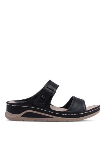 Bata black Slide On Sandals 5E471SH1864BA2GS_1