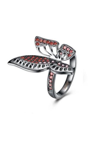 ADORA red Butterfly Ring 294FDAC6FB9FE5GS_1