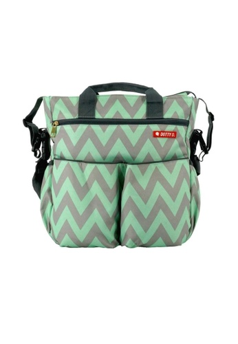 Swan green Swan Multi Function Large Capacity Diaper Mama Bag Backpack  [ Stock Ready / High Quality ] C66B2KCDE5FE84GS_1
