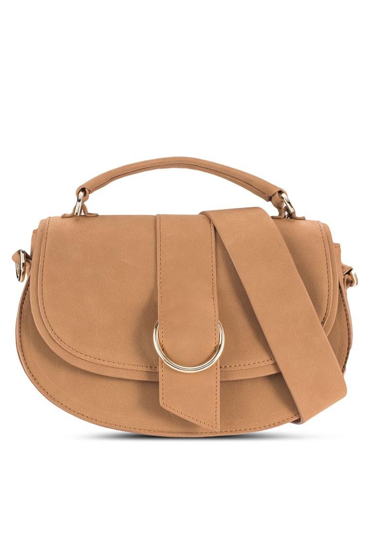 Round Buckle Saddle Bag
