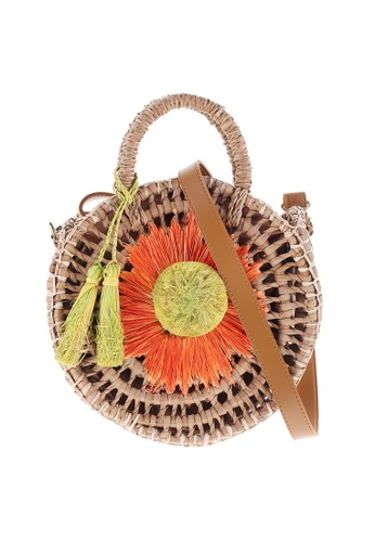 Style Cat brown and orange Spain Handmade Woven Daisy Sling E5F88ACFCB2512GS_1