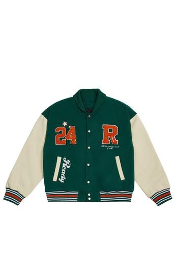 Twenty Eight Shoes Loose-Fitting Embroidered Baseball Uniform 5040W21 0FBFFAABC9CD95GS_1