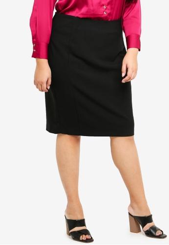 Dorothy Perkins black Black Pencil Skirt 3F151AAB5DED6DGS_1