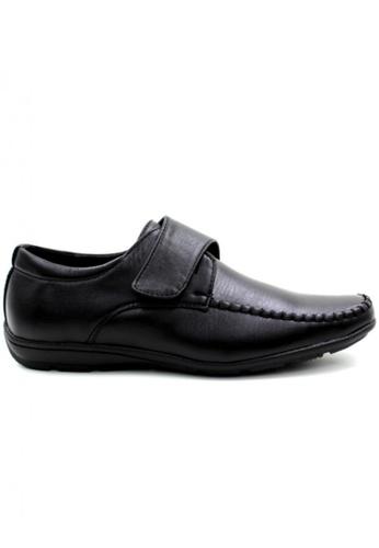 London Fashion black LX1309-7 Leather Shoes   LO229SH31ZKMPH_1