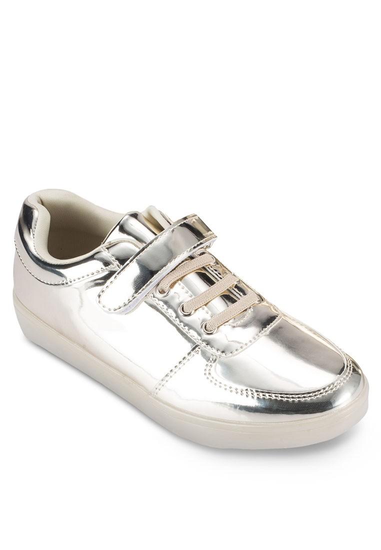Mirror Metallic Sneakers