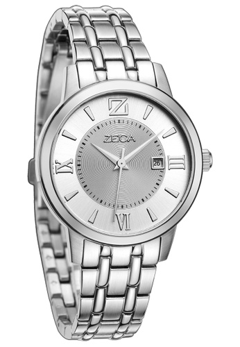 ZECA silver Zeca Watches Couple Ladies Fashion - 305L Silver ZE260AC93SKOSG_1