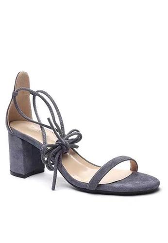 Twenty Eight Shoes 藍色 羅馬綁帶涼鞋5691-11 0E111SH60034F9GS_1