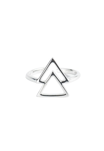 A-Excellence silver Premium S925 Sliver Geometric Ring 8947EAC25BEF19GS_1