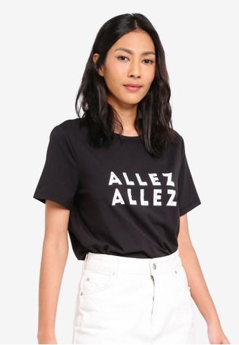 ESPRIT black Short Sleeve T-Shirt ACC1FAA1AE0E4AGS_1