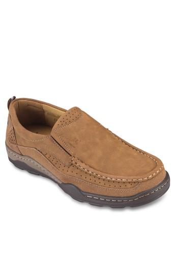 zalora 鞋評價縫線休閒樂福鞋, 鞋, 船型鞋