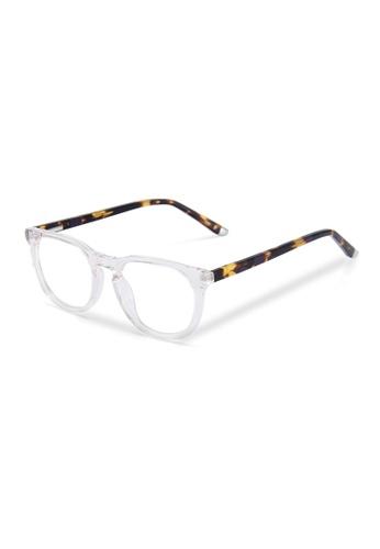 Sensolatino Eyewear Sensolatino Optical  Acetate Frame Series Gaia Unisex Transparent C82C9GL41BE7B5GS_1