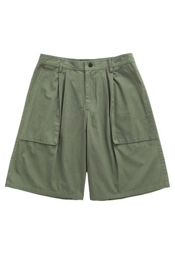 Twenty Eight Shoes Simple Casual Cargo Shorts 3093S20 17EE1AA8DAF5B5GS_1