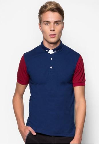 色塊POLO 衫, esprit 會員服飾, Polo衫