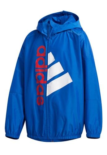 ADIDAS blue lightweight jacket 4F9CEKAE5FDC6EGS_1