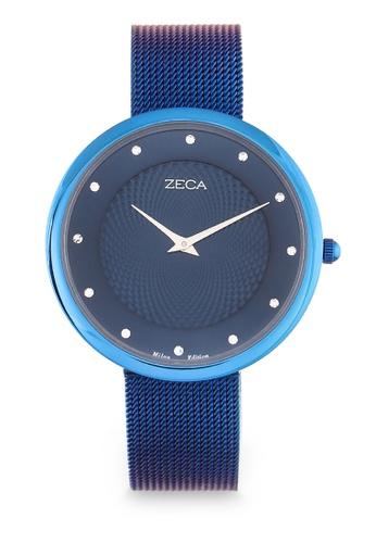ZECA blue Zeca Watches Ladies Fashion - 1001L(3) Blue 2012FAC531D142GS_1