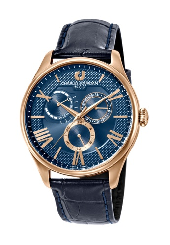 Charles Jourdan gold Charles Jourdan Men Watch Multi-Function CJ1047-1583M 39CC1AC91D3D0FGS_1