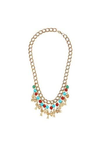 1901 Jewelry Key Lock Chain Necklace