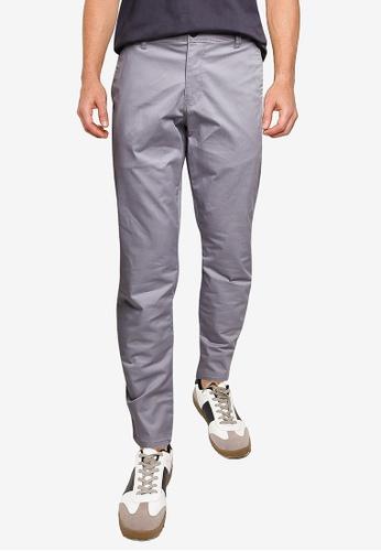 LC Waikiki grey Slim Fit Gabardine Chino Trousers 06BE5AA51010BEGS_1