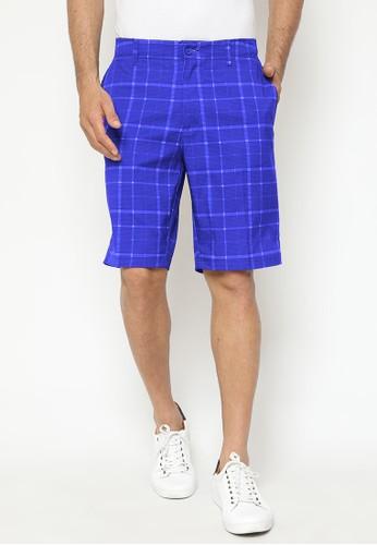 Jack Nicklaus blue Ozark Premium Shorts 7AFB6AA85CD14EGS_1