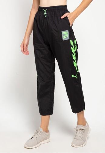 PUMA black Evide Woven Track Pants 3CA5AAA7418AE1GS_1