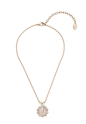 Her Jewellery gold Ferris Wheel Pendant (Rose Gold) - Made with premium grade crystals from Austria 4E185AC3E22BAAGS_1