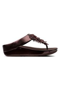 cb03dd18500f50 FitFlop purple Fitflop Rumba Toe-Thong Sandals (Berry) 8F0D7SH3D8E83CGS 1