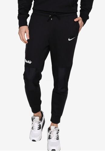 Nike black and grey Air Men's Fleece Pants 5AC66AAD4DC31DGS_1