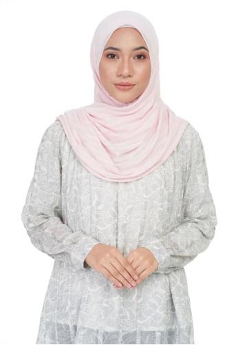 KASHKHA pink Jersey casual shawl-PINK 62939AAFDF6381GS_1