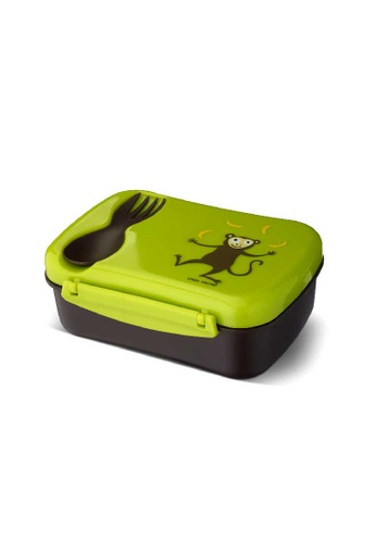 Carl Oscar green N'ice Box Kids, Lunch box with cooling pack - Lime 76462ES9FA2C97GS_1