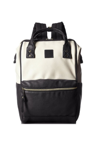 Anello black and white anello PU backpack 67792ACA565629GS_1