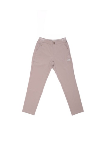 The North Face beige The North Face Women's 9/10 Travel Pant Crockery Beige 328FFAA0470A59GS_1