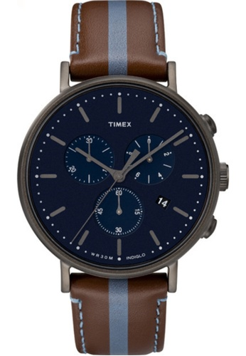 Timex blue Timex Fairfield Chrono TW2R37700 37581AC3C48A6DGS_1