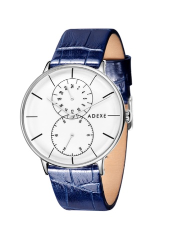 ADEXE Watches blue ADEXE Watches Foresser Men Leather B96BAAC95CA83EGS_1