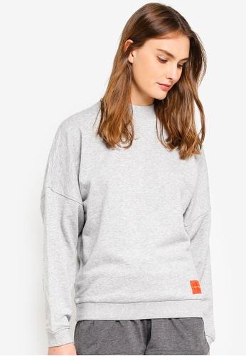 Calvin Klein grey Monogram Long Sleeve Sweatshirts - Calvin Klein Underwear 4A280AA759DA26GS_1