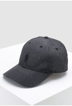 84e5514d34410 Sizes One Size. Polo Ralph Lauren grey Baseline Cap 00E6FAC8BFF268GS 1