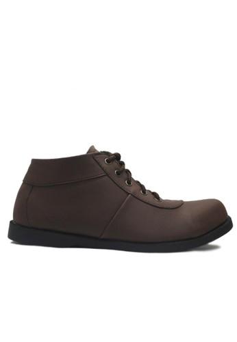 D-Island brown D-Island Shoes Low Ventura Comfort Leather Dark Brown DI594SH71NLCID_1