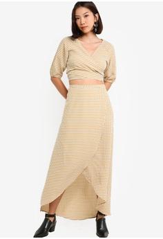 2f5c32f32e 38% OFF Something Borrowed Asymmetric Midi Skirt S$ 39.90 NOW S$ 24.90  Sizes XS S M L XL