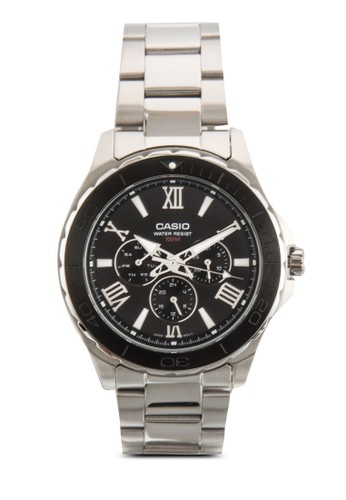 三指針不銹鋼圓錶, 錶類, 飾品配esprit 內衣件