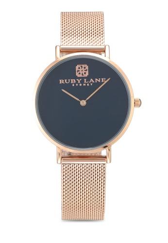 Ruby Lane blue and gold Liquid Harper Ruby Lane 36mm Watch 80F95AC9DEDA72GS_1