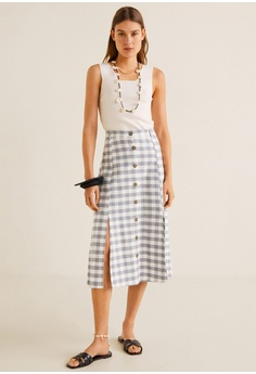 de39b883f2 54% OFF Mango Vent Midi Skirt S$ 55.90 NOW S$ 25.90 Sizes XS S M L