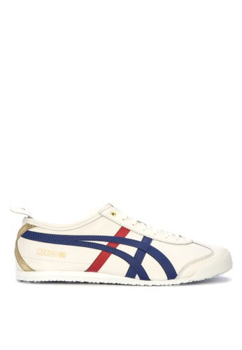 Onitsuka Tiger white and multi Mexico 66 Sneakers 1F5DDSHEF52A7DGS_1